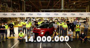 14 millones de unidades producidas en la planta de PSA en Figueruelas