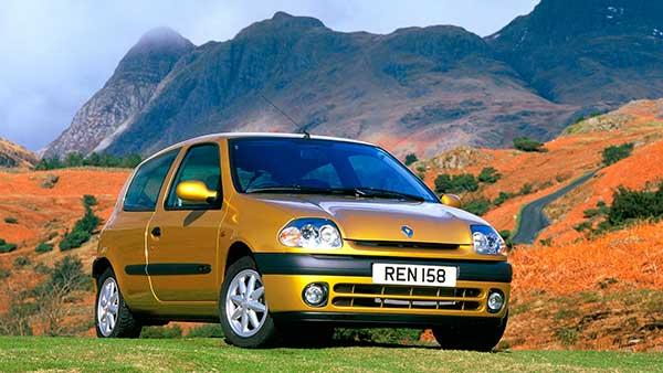 Segunda generación Renault Clio