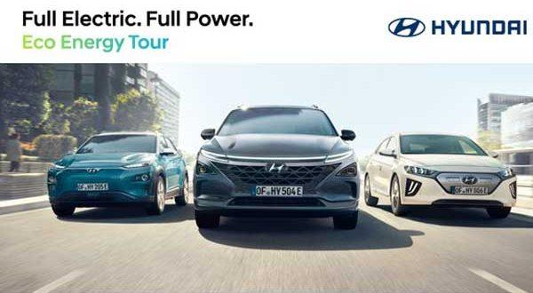 Hyundai pone en marcha Eco Energy Tour para dar a conocer la movilidad sostenible