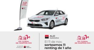 En el Día Mundial del Shopping 2020, AliExpress sortea 11 vehículos de renting de ALD Automotive
