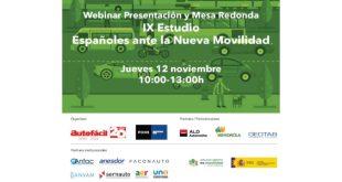"""ALD Automotive participa en la presentación del """"IX Estudio Españoles ante la Nueva Movilidad"""""""