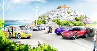 Volkswagen y Grecia crean el primer modelo de movilidad climáticamente neutra en una de sus islas
