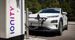 Hyundai se incorpora a la red europea de carga IONITY