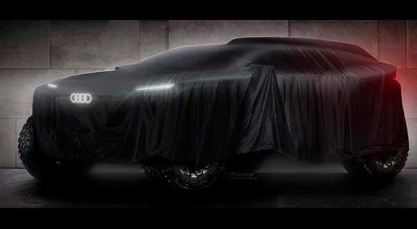 Audi competirá, por primera vez en su historia, en el Rally Dakar
