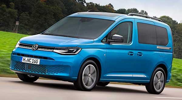 La quinta generación del Volkswagen Caddy, ya a la venta en España