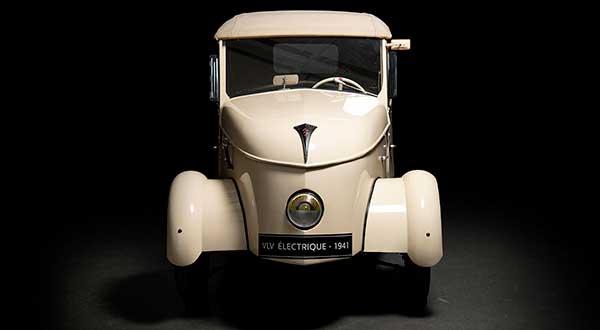 Así era el Peugeot VLV, un coche eléctrico con más de 80 años