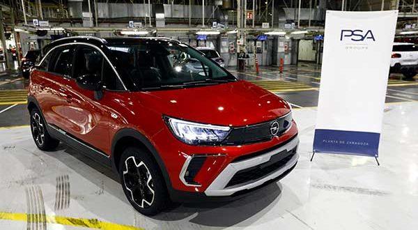 Figueruelas inicia la fabricación en exclusiva del nuevo Opel Crossland