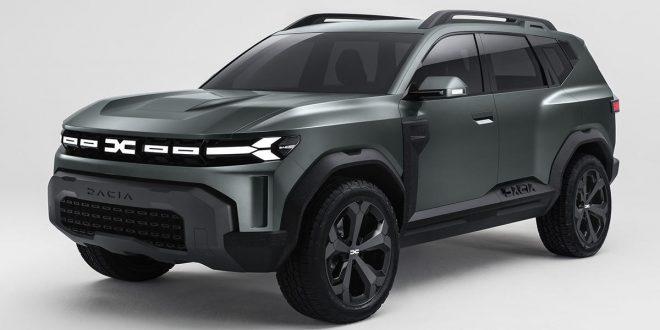 Dacia anticipa el diseño de su nuevo Bigster Concept
