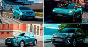 Las matriculaciones de coches eléctricos crecieron un 44.4% en 2020