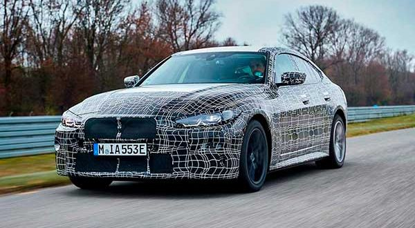 El BMW i4, en su recta final de desarrollo