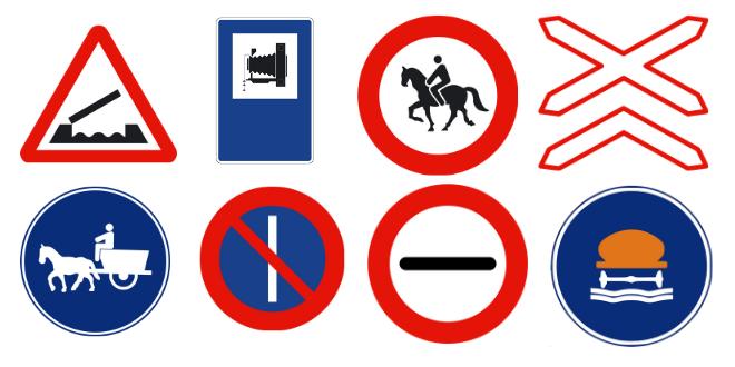 ¿Conoces las señales más raras que podemos encontrar en las carreteras españolas?
