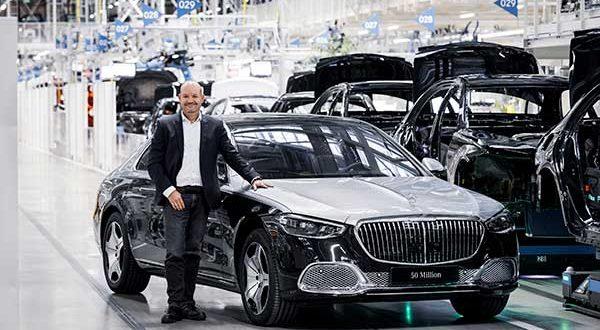 Mercedes llega a la cifra de 50 millones de coches fabricados