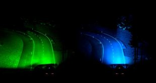Ford desarrolla unos nuevos faros inteligentes con tecnología predictiva