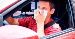 Conducir con alergias aumenta el 30% el riesgo de accidente