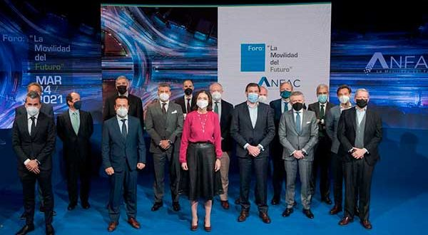 ANFAC presenta su plan de descarbonización y electrificación hasta 2030