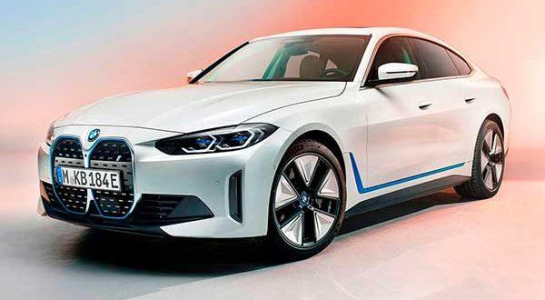 BMW presenta el nuevo i4, su nueva berlina eléctrica