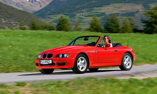 BMW Z3 descapotable
