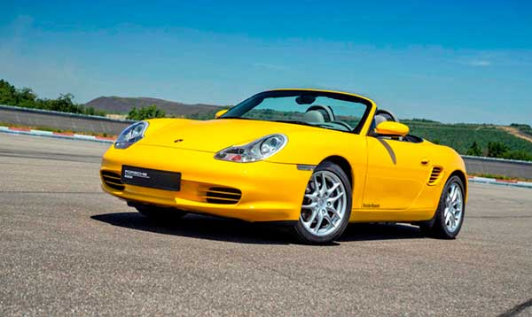 Porsche Boxster descapotable