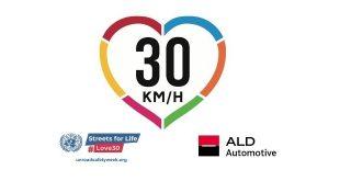 """ALD Automotive se suma a la iniciativa """"Calles para la vida #Love 30"""" de Naciones Unidas"""