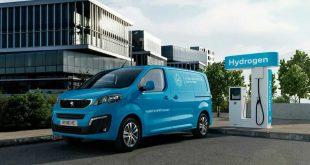 La Peugeot e-Expert estrena variante de hidrógeno