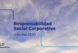 Informe RSC 2020 de ALD: Hacia una electromovilidad adaptada al nuevo contexto social