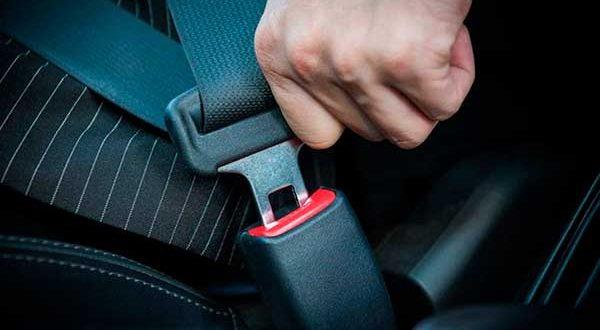 Excepciones cinturón de seguridad