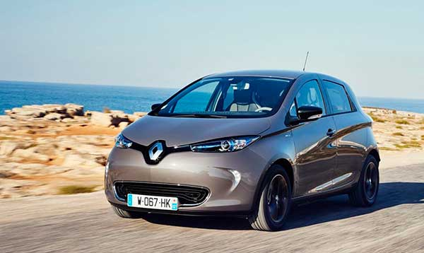 Renault ZOE viajar