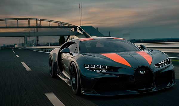 Bugatti Chiron supercoches