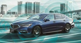 Honda Legend EX coches autónomos